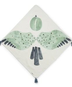 Brisačka s kapuco- Watercolor Wings 2