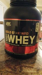 Gold Standard Whey Protein Cookies and Cream