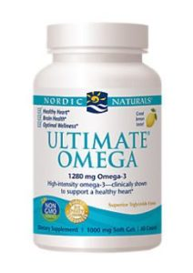 Nordic Naturals Ultimate Omega 3 fatty acids Supplement