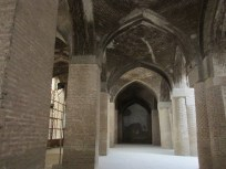 Much of this mosque has been reconstructed so the beautiful tile work is missing