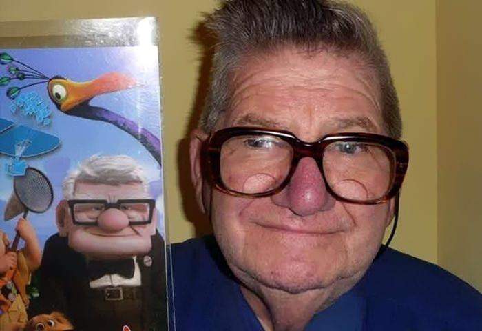 παρόμοια πράγματα This Man Looks Like Carl From Up!