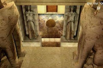 Ο τάφος της Αμφίπολης σε 3D amfipoli 3d