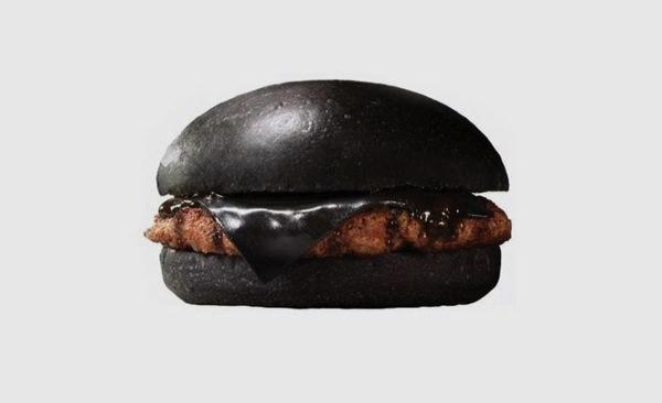 Μαύρα Burgers Burger King Kuro burger japan