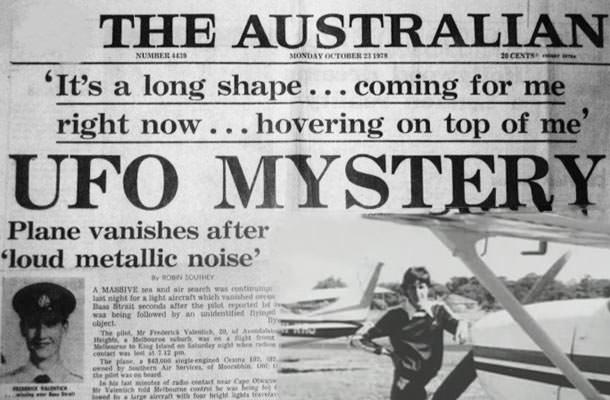 Η Εξαφάνιση του πιλοτου Frederick Valentich