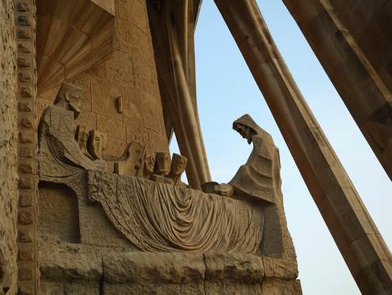 ταξίδι στη Σαγράδα Φαμίλια - Sagrada Familia allabout.gr
