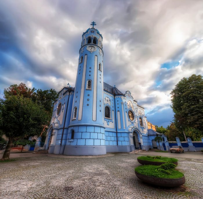 Καταπληκτικοί Χώροι Λατρείας Ναοί Church of Saint Elizabeth in Slovakia