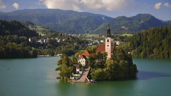 Καταπληκτικοί Χώροι Λατρείας Ναοί Church of the Assumption in Slovenia