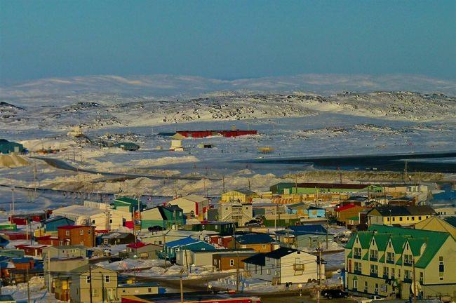 πόλεις που δεν υπήρχαν το 1960 Iqaluit, Nunavut, Καναδάς