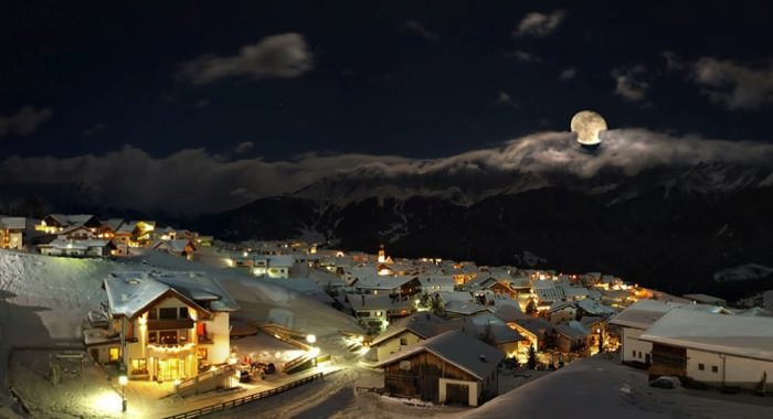 γραφικές χειμερινές πόλεις του κόσμου Serfaus, Austria