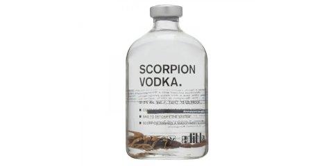 βότκα με σκορπιό scorpion vodka
