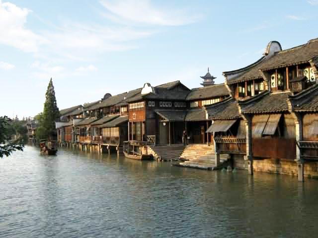 Υπέροχα χωριά που επιπλέουν στο νερό Wuzhen china allabout.gr