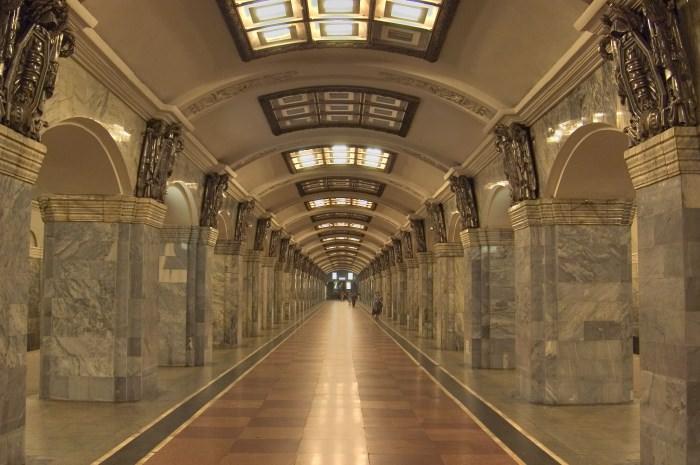 Πιο όμορφοι σταθμοί μετρό στον κόσμο Kirovsky Zavod Station