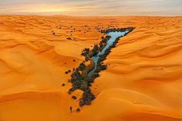 Οι πανέμορφες λίμνες της ερήμου στη Λυβύη! Ubari Libya