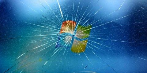 Το PC σου κινδυνεύει και δεν το ξέρεις windows broken screen