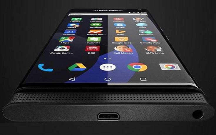 Διέρρευσε εικόνα από την Android συσκευή της Blackberry