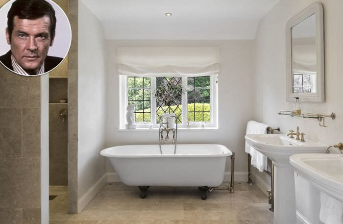 Roger Moore bathroom