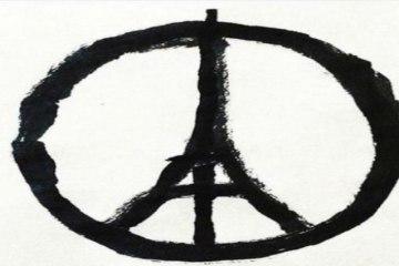 Παγκόσμιο viral το σήμα της ειρήνης με τον Πύργο του Άιφελ