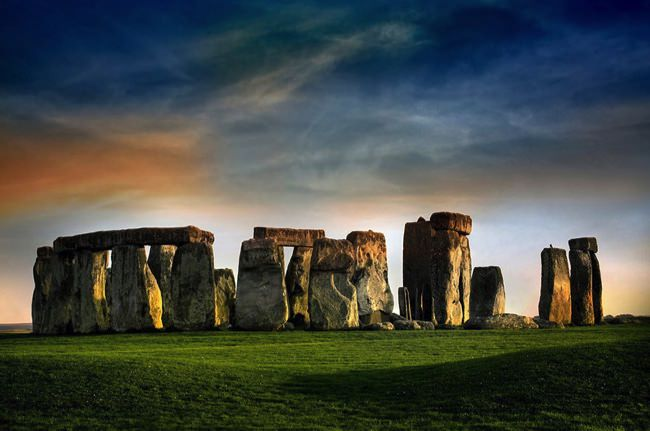 Stonehenge αξιοθέατα που δείχνουν εντυπωσιακά