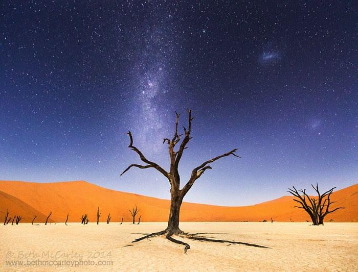 Έρημος Namib, Αφρική