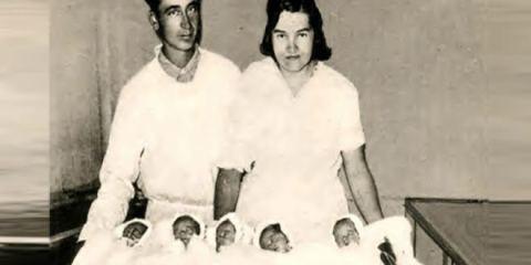 Γεννήθηκαν μαζί το 1934