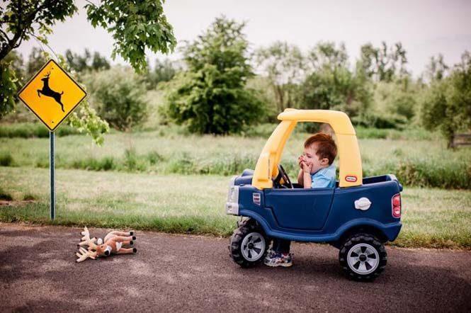 Μπόμπιρας και το αυτοκινητάκι 1