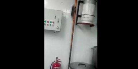 κουζίνα ενός Ασιατικού εστιατορίου