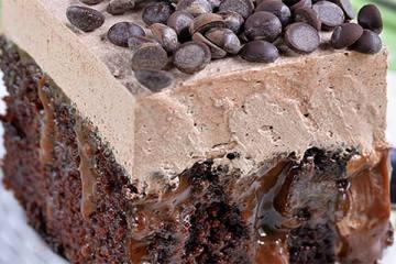 Σοκολατένιο κέϊκ σιροπιαστό
