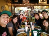Cafe Rio with friends!!