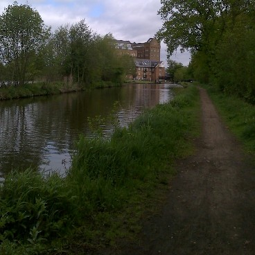 View towards Coxes Mill