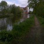 fishing the Wey in Addlestone