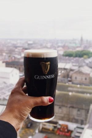 Guinness Factory tour in Dublin, Ireland