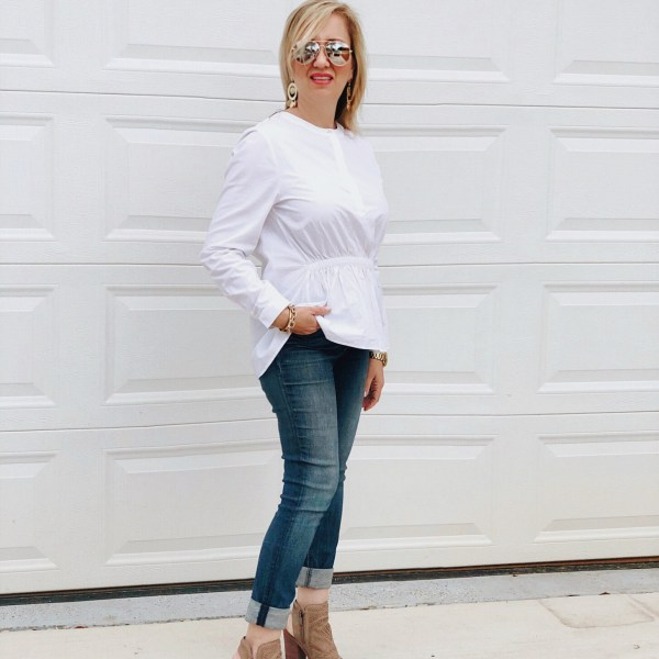 Fashion Girls Wear White After Labor Day