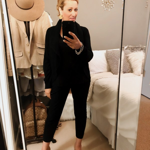 A Bold, Chic and Simple Outfit