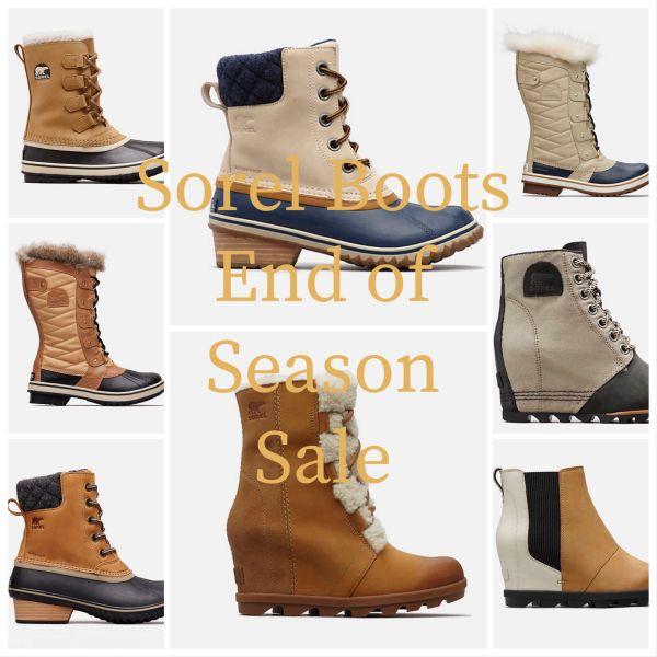 Sorel End of Season Sale