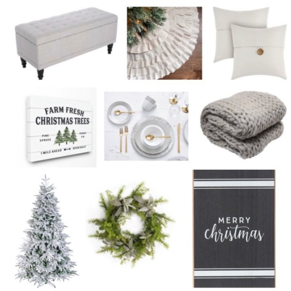 Affordable Christmas Decor from Walmart
