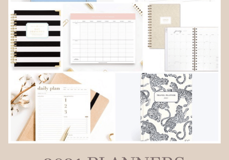 2021 Planners to Get You Inspired