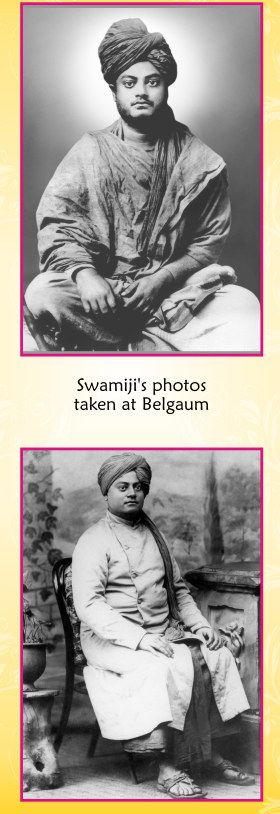 Swami Vivekananda's photos taken while he visited Belgaum By Shri. Welling