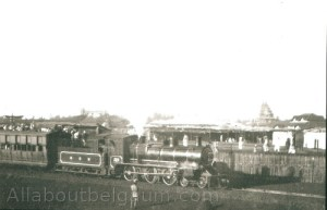 Vijaynagar the temporary Railway station made for the 1924 Belgaum session
