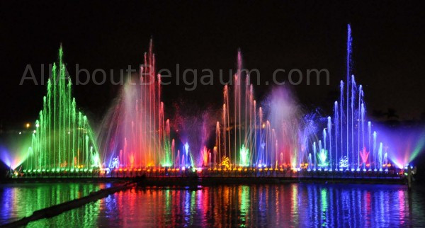 belagavi musical fountain