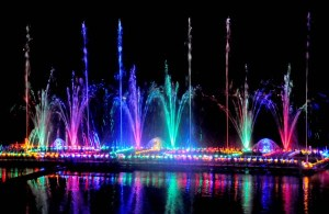 Laser tech, musical fountain now adorns Belagavi fort lake