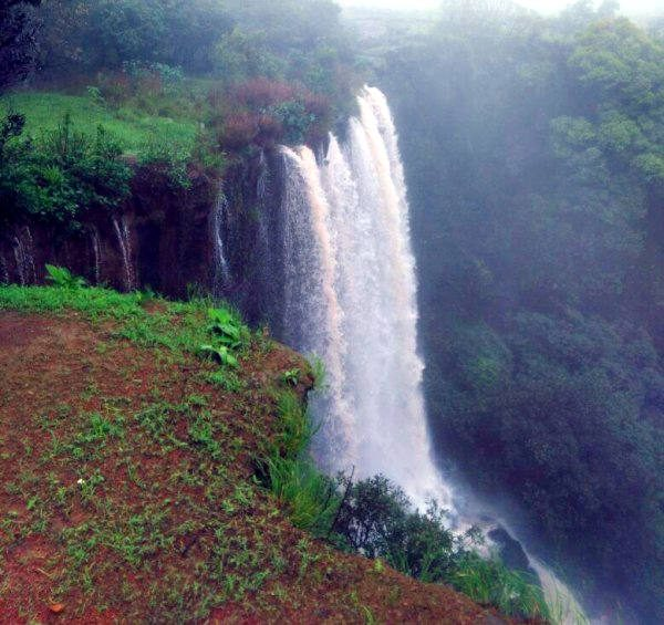 Chikhale Falls near Chikale village which is about 40 kms from Belagavi.