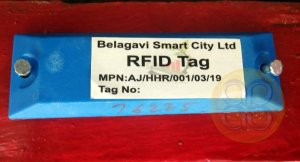 rfid-tags smart city belagavi