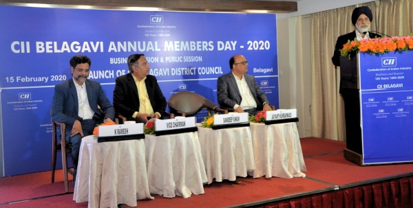 CII Launches District Council at Belagavi