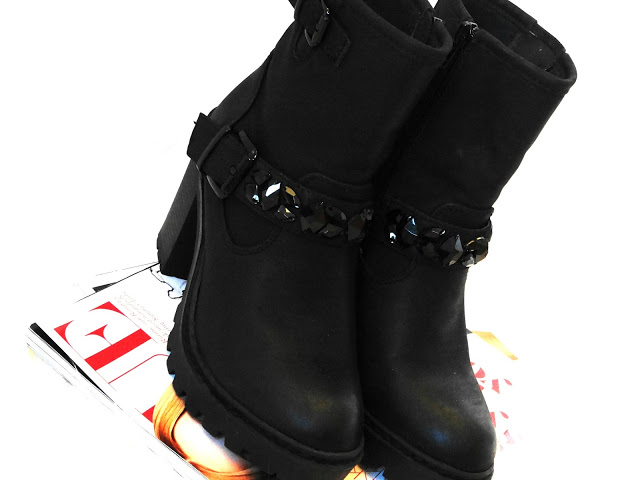 03a53 dsc097552b2528125291 - NEW IN ♥ ZWARTE BIKERBOOT STRASS