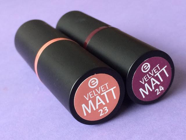 04fbc img 9278 - Essence Velvet Matt Lipsticks 23 & 24
