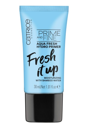 4059729028914 Prime And Fine Aqua Fresh Hydro Primer Image Front View Closed - CATRICE ASSORTIMENT UPDATE HERFST / WINTER 2018