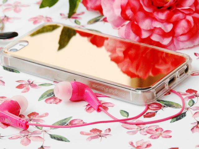 ced78 dsc018352b252822529 - Ringke Fusion Mirror Apple iPhone SE spiegel hoesje Rose Gold