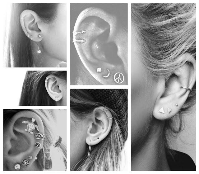 d7179 oorbellen - Een tweede gaatje