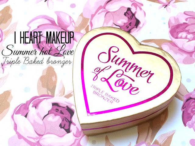 d985b img 2617 - I HEART MAKEUP Blushing Hearts - Love Hot Summer Triple Baked Bronzer