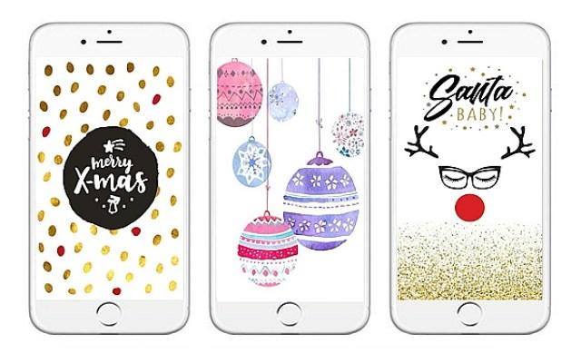 e585e 1wal2b252812529 - 15x de allerleukste kerst achtergronden voor je mobiel.